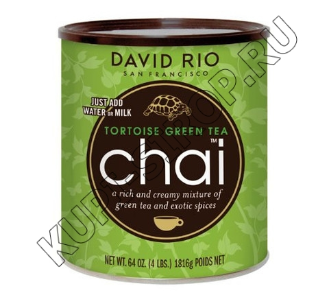 Чай латте David RIO Green Tea 1816г