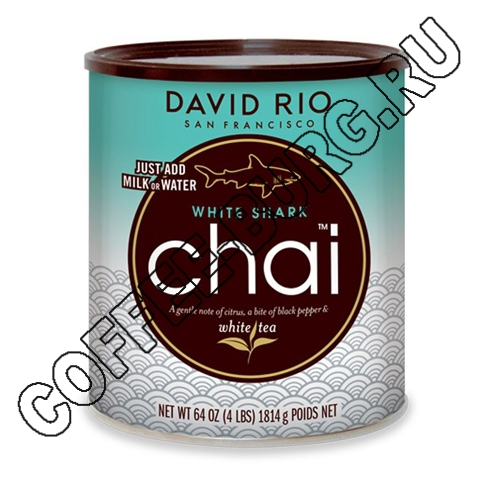 Чай латте David RIO White Shark Chai 1816г
