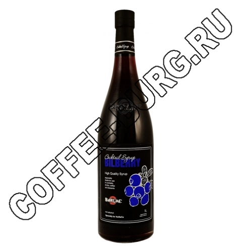Сироп Barline Blueberries (Черника) 1 литр